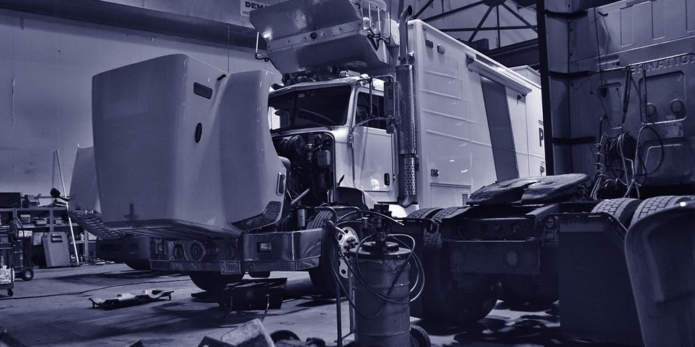 Peças de caminhão