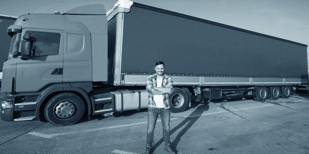Suspensão de caminhão